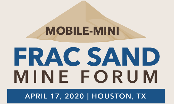 mobile mini frac sand